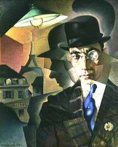 Annenkov, Yuri (1889-1974) - 1918 Portrait of the Photographer Miron Sherling (State Russian Museum, St. Petersburg, Russia) by RasMarley, via Flickr
