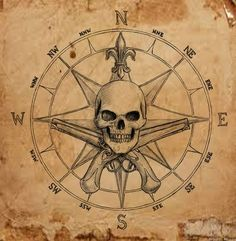 The post Pirate Compass symbol by dashinvaine on deviantART appeared first on Best Tattoos. Map Tattoos, Body Art Tattoos, Sleeve Tattoos, Pirate Compass Tattoo, Pirate Skull Tattoos, Pirate Map Tattoo Sleeve, Vintage Pirate Tattoo, Pirate Tattoo Sketch, Compass Tattoos For Men