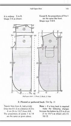 from Zarapkar system of cutting Mens Sewing Patterns, Sewing Tutorials, Clothing Patterns, Sewing Ideas, Mens Pants Size Chart, Mens Shirt Pattern, Fashion Infographic, Tailoring Techniques, Dress Shirts For Women