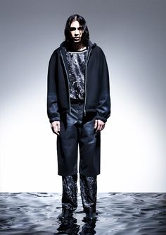 Andrea-Cammarosano_fw14_fy12 Jack Of Spades, Black Space, Fall Winter 2014, Catwalk, Menswear, Mens Fashion, Collection, Future, Hot