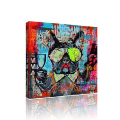 COOL TERRIER CANVAS