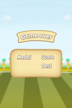 Super_Ball_Juggling game over Screen