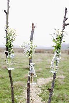 Fun weekend craft project at the campsite with Kate :)  Use clear wine bottles *Becca