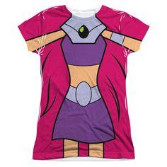 Birthday Ideas Cosplay T Shirt Violet Gabriel Forward Starfire