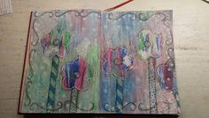 Home made art journal