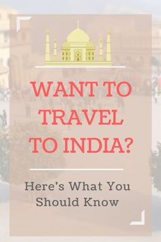 If you ever wondered what a travelling to India would be like, here are 10 things you'll want to know. I've included the most often asked questions I get, including details on the subway, the smell, and packing for India. Click through to get all the scoop!