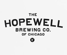 The Hopewell Brewing Co. logo, designed by Official Mfg. Co.
