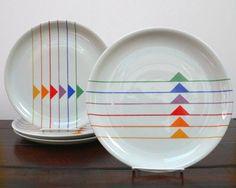 geometric design on plates - Buscar con Google