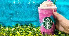 Starbucks logró sorprendente éxito comercial con su frappucino unicornio
