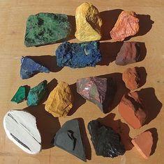 mineralen voor pigmenten