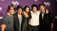 Matthew Davis, Ian Somerhalder, Michael Trevino, Steven R. McQueen and Nina Dobrev