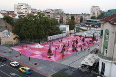 City Square, Šabac, Serbia  Project manager: Igor Marsenic  Project designers: Kseija Lukic & Bojan Alimpic