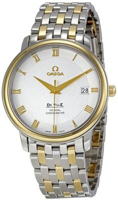 Omega Men's 4374.31 Silver Dial DeVille Prestige Watch | Your #1 Source for Watches and Accessories