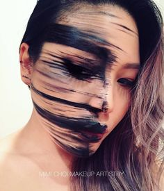 Strange makeup creations by Mimi Choi (image)