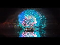 The magical interactive installation Periscopista, a giant, misty cloud above the lake that could be controlled by the festival crowd . By Thijs Biersteker a...