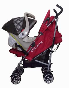 This adapter allows the Omi Stroller to be used with an infant car seat, so babes up to 6 months old can enjoy summertime strolls. Best of all, moving them from the car to the stroller while still in their seat helps prevent waking sleeping little ones. Best Double Pram, Double Prams, Twin Strollers, Double Strollers, City Select Double, Best Prams, Baby Jogger City Select, Umbrella Stroller, Jogging Stroller