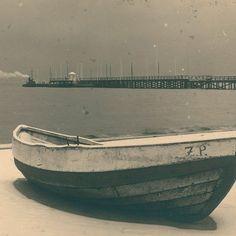Autor nieznany  Gdynia, zima nad polskiem [!] morzem, 1929
