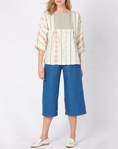 Ace & Jig Popham Top in Sunkissed