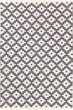 Samode Graphite/Ivory Indoor/Outdoor | Dash & Albert Rug Company