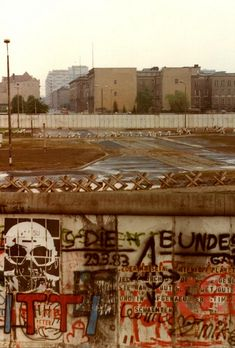 Potsdamer Platz, Berlin, Summer 1988 - for more inspiration visit http://pinterest.com/franpestel/boards/