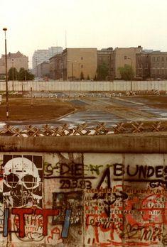 Potsdamer Platz, Berlin, Summer 1988 - for more inspiration visit http://pinterest.com/franpestel/boards/