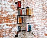 totally love the electic feel and unique way to shelve books...could even use baskets too! Stellableudesigns