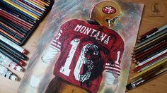 Joe Montana 49ers NFL