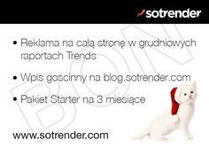 Sotrender - bon promocyjny (aukcja charytatywna!)
