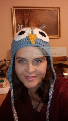 Crochet Owl Hats - Crochet...Gotta Love It! Blog