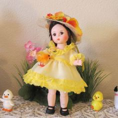 LEMON DELIGHT Easter set fits Madame Alexander Muffie or Ginny Handmade HEIRLOOM