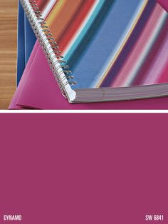 Sherwin-Williams pink paint color – Dynamo (SW 6841)
