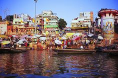 Ganges River in Varanasi, India. I have been here twice. At this exact place too. A very emotional place for me.