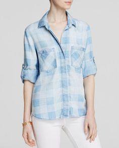Bella Dahl Shirt - Bloomingdale's Exclusive Chambray Gingham