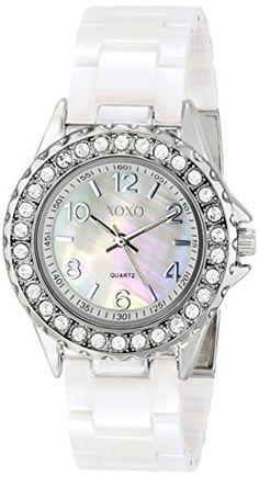 XOXO Women's XO2009 Swarovski Crystal-Accented Watch XOXO http://www ...