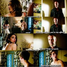 Absolutely loved this scene could not stop laughing!!! Teen wolf galvanize