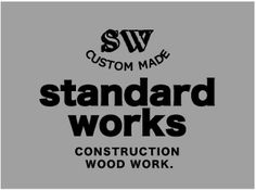 standardworks. osaka japan.