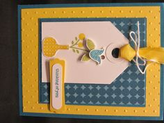 Another April Stampin' Up group card