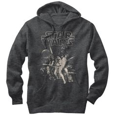 Star Wars Men's - Classic Poster Lightweight Hoodie #FifthSun #StarWars