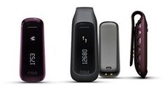 The Fitbit One -- The ultimate wireless fitness tracker, pedometer, and sleep monitor. Really gets you moving. Fitbit One, Fitbit Charge, Wearable Device, Wearable Technology, Medical Technology, Energy Technology, Technology Gadgets, Smartphone, Cadeau High Tech