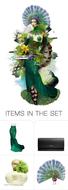 """Elsie Loves, Coach - Poppy Citrine Blossom"" by necyluv ❤ liked on Polyvore featuring art"