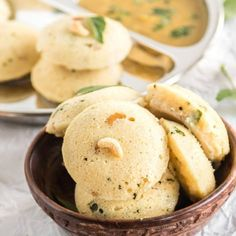 Homemade Idli Dosa Batter which makes soft and spongy idlis and crisp dosa! Serve the idli and dosa with sambar and chutney for a comforting meal. Masala Dosa Recipe, Idli Recipe, Dosa Batter Recipe, Semolina Cake, Coconut Chutney, Indian Food Recipes, Ethnic Recipes, Indian Breakfast, South Indian Food
