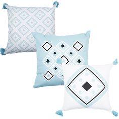 Blue Diamond Cushion Range - Bed Bath & Beyond