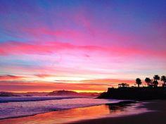 amanecer-sardinero-piquio-santander ༺✿Teresa Restegui http://www.pinterest.com/teretegui/✿༻