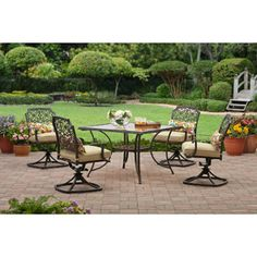 Better Homes And Gardens Azalea Ridge Piece Patio Dining Set - Better homes and garden patio set