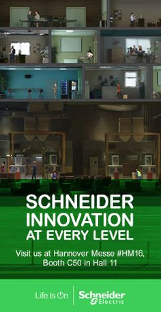 Discover innovation at every level with Schneider Electric at Hannover Messe 2016. Come see how our solutions redefine connectivity, efficiency, and power distribution.