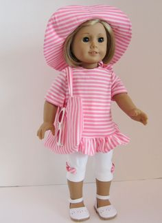 American Girl Doll: Sun Protection by SewSpecialByBarb on Etsy