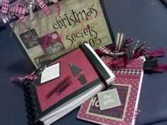 simple holiday planner (altered notebook) tute