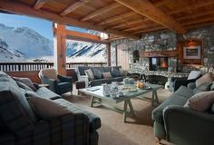 Val d'Isere luxury ski chalet French Alps