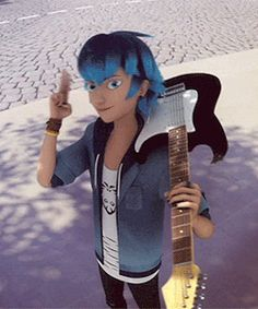 I have a soft spot for musicians and wholesome boyos. I must protecc all that is precious in the cartoon world. Ladybug Y Cat Noir, Meraculous Ladybug, Ladybug Comics, Luka Miraculous Ladybug, Miraculous Ladybug Wallpaper, Les Miraculous, Dibujos Zentangle Art, Miraculous Characters, Kids Shows
