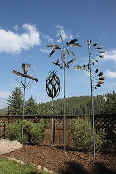 Lakepoint Chiropractic Sculptures Yard Sculptures, Heavy Metal Art, Art Nouveau Furniture, Steel Art, Kinetic Art, Wind Spinners, Metal Projects, Outdoor Art, Wire Art
